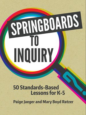 cover image of Springboards to Inquiry